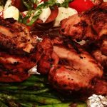 Spicy Game Hens recipe by kristen coffield of the culinary cure