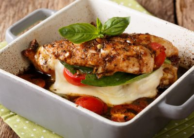 Simple Healthy Chicken Parmesan