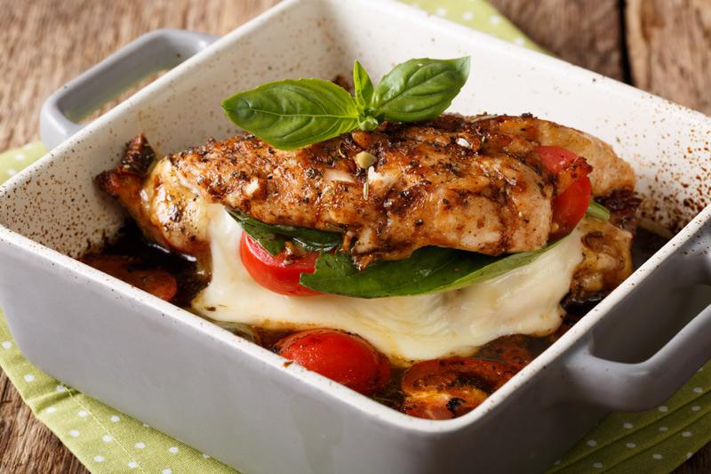 Simple Healthy Chicken Parmesan