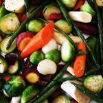 pan roasted vegetable recipe by kristen coffield of the culinary cure