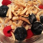 Chia Breakfast Pudding with Cinnamon and Almond Milk by kristen coffield of the culinary cure