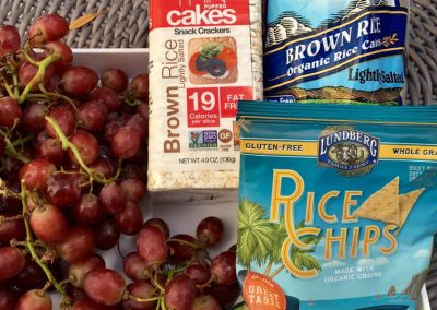 Anti-inflammatory Red Grapes vs Inflammatory Puffed Rice Cakes