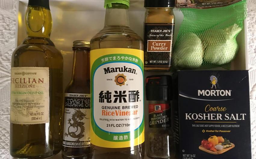 Curried Asian Vinaigrette