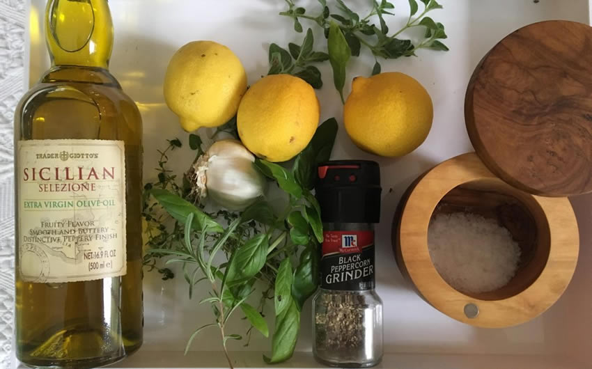 Lemon Shallot Dressing