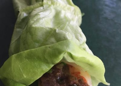Lettuce Wraps for Sandwiches and Grilled Foods