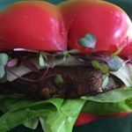 Portobello Mushroom Burger or Bell Pepper Buns