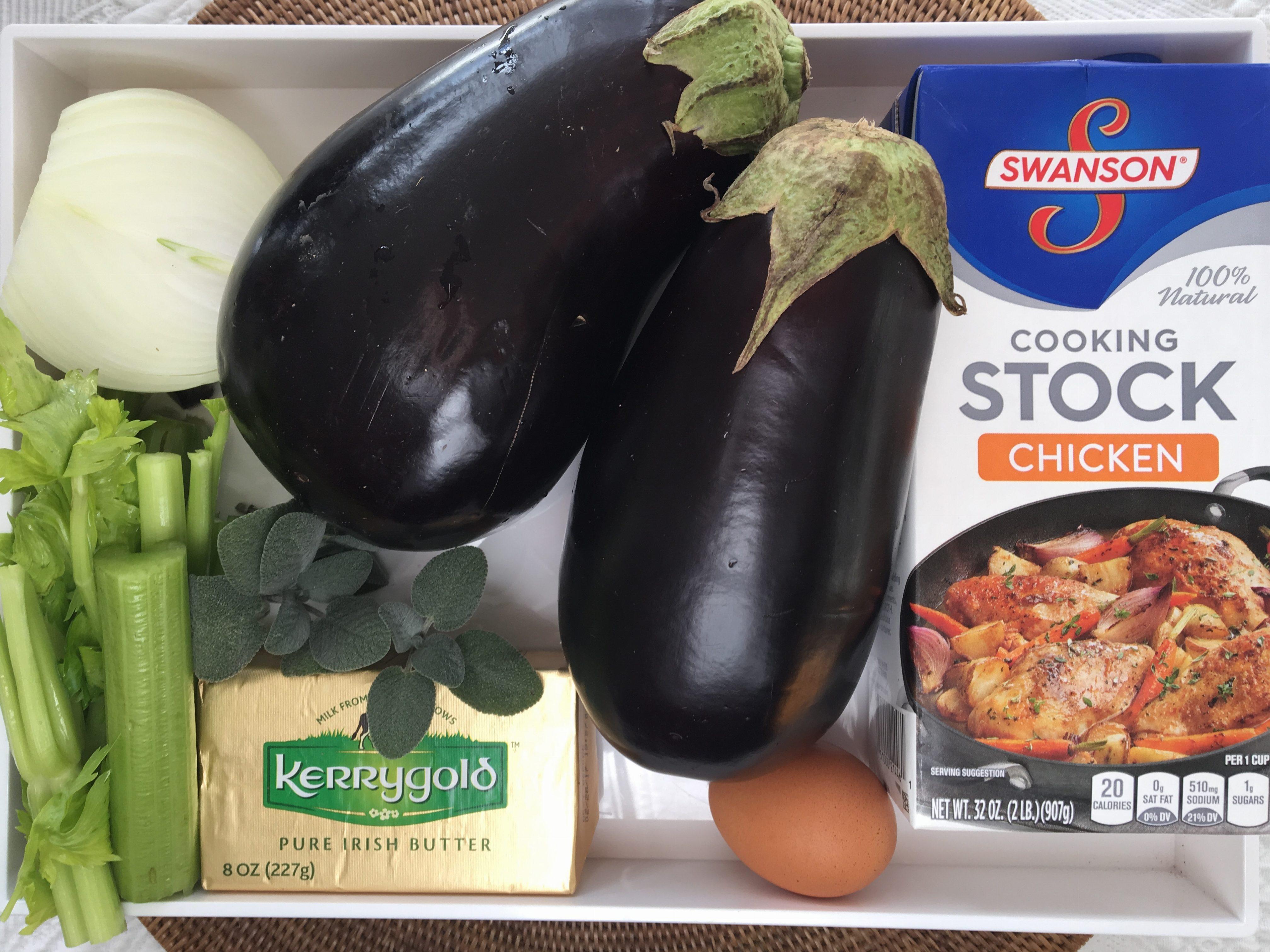 Eggplant Sage Stuffing