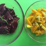 Beet salad recipe by kristen coffield of the culinary cure