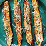Miso Glazed Japanese Eggplant recipe by kristen coffield of the culinary cure