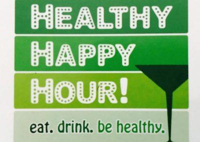 Healthier Happy Hour