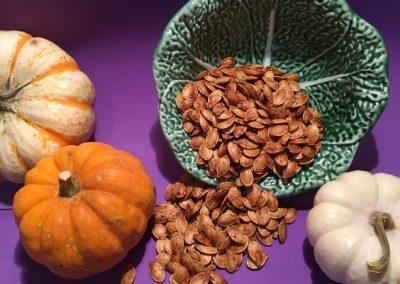 Perfect Roasted Pumpkin Seeds