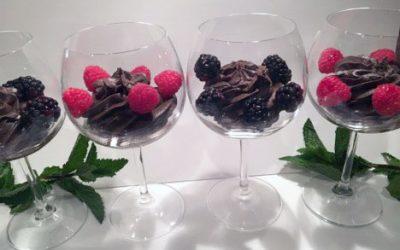 Avocado Dark Chocolate Mousse