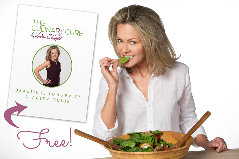 FREE Longevity Advice by Kristen Coffield of The Culinary Cure