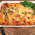 Rutabaga baked ziti by Kristen Coffield of the culinary cure