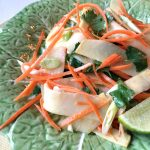 Asian Inspired Rutabaga and Carrot Salad Recipe by Kristen Coffield of the Culinary Cure