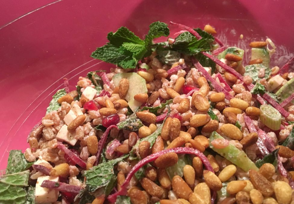 Heart Healthy Farro Salad