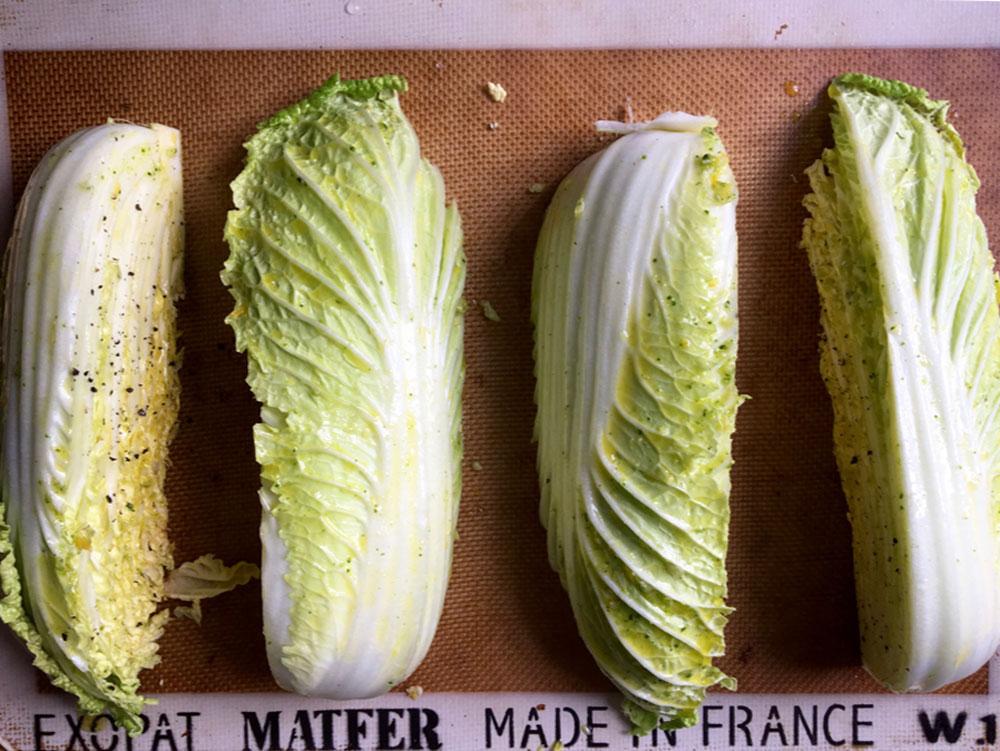napa cabbage recipe prep
