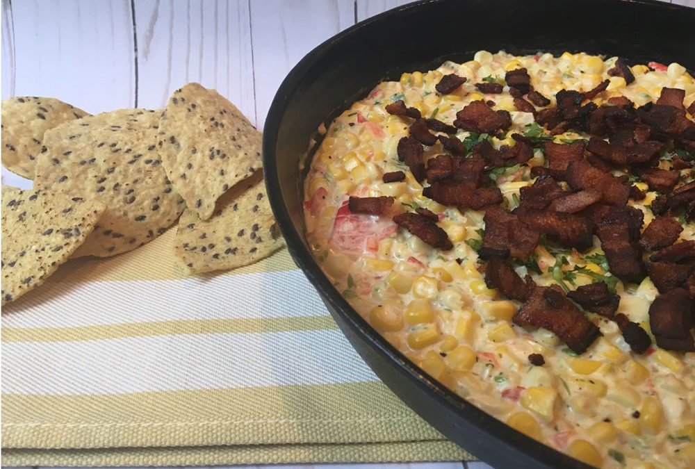 Hot Bacon and Corn Salsa