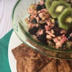 Recipe for Fresh Berry Salsa with Cinnamon Crisps