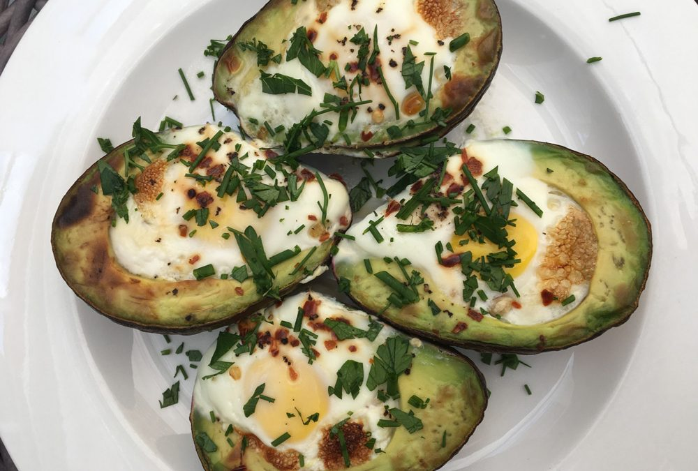 Baked Avocado Eggs