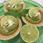 amazing Avocado & Lime Tarts recipe by the culinary cure