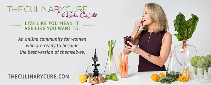 Join the party on facebook with Kristen Coffield of the culinary cure
