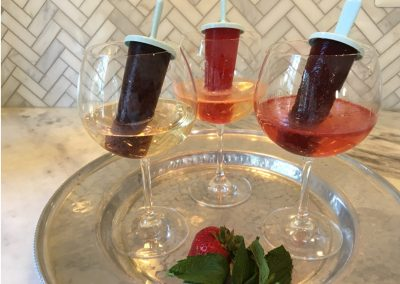 Antioxidant Fruit Pops & Prosecco