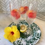 Watermelon, cantaloupe, honeydew, seltzer, vodka cocktail recipe by the culinary cure