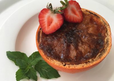 Pink Grapefruit Brûlée Recipe