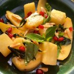 healthy recipe for stir Fried Pineapple and Mango by kristen coffield of the culinary cure