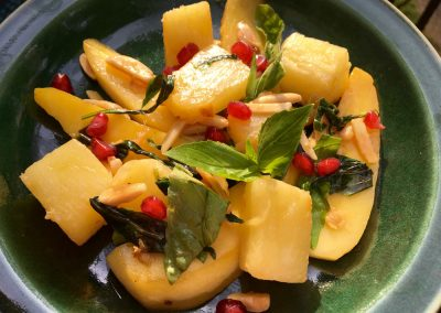 Stir Fried Pineapple and Mango