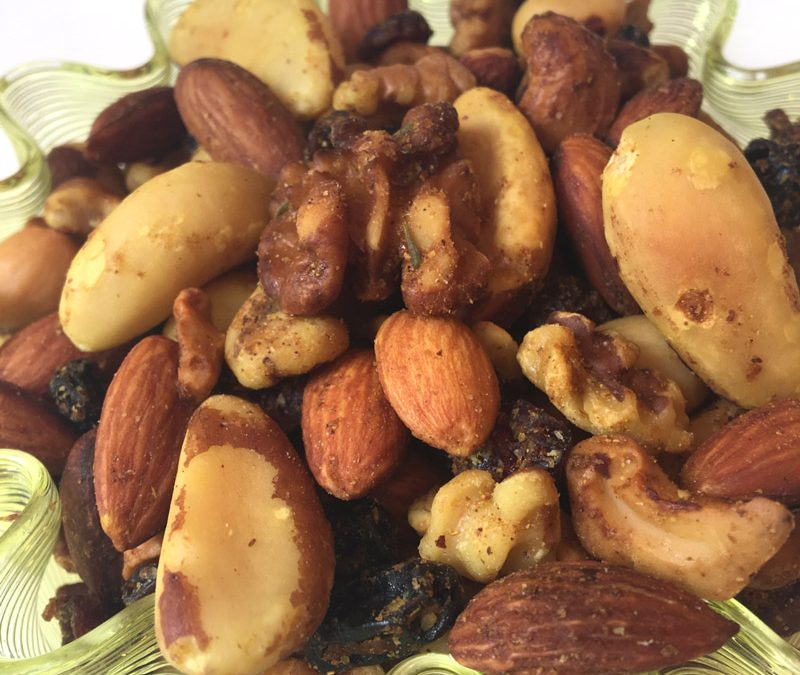 Curried Antioxidant Nut Mix