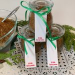 Chili Powder Chicken Thigh Rub & Recipe by the culinary cure DIY healthy gift giving