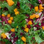 kale raddicchio butternut squash recipe by the culinary cure