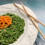Asian Pesto With Ramen and CBD by kristen coffield of the culinary cure