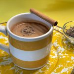 Lavender Chai Latte with CBD recipe by kristen coffield of the culinary cure