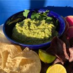 Holy Mole Guacamole with CBD recipe by kristen coffield of the culinary cure