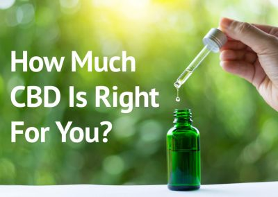How Much CBD Is Right For You?