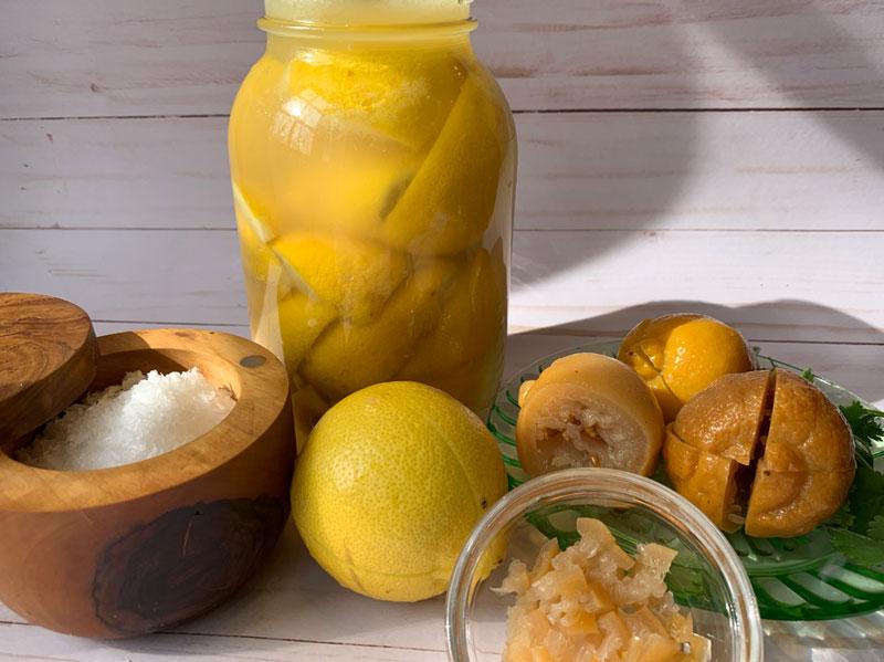 Lacto-Fermented Lemons