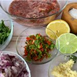 Fermented Salsa Fresca recipe by Kristen coffield of the culinary cure