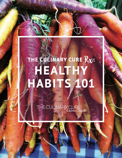 the culinary cure rx by kristen coffield