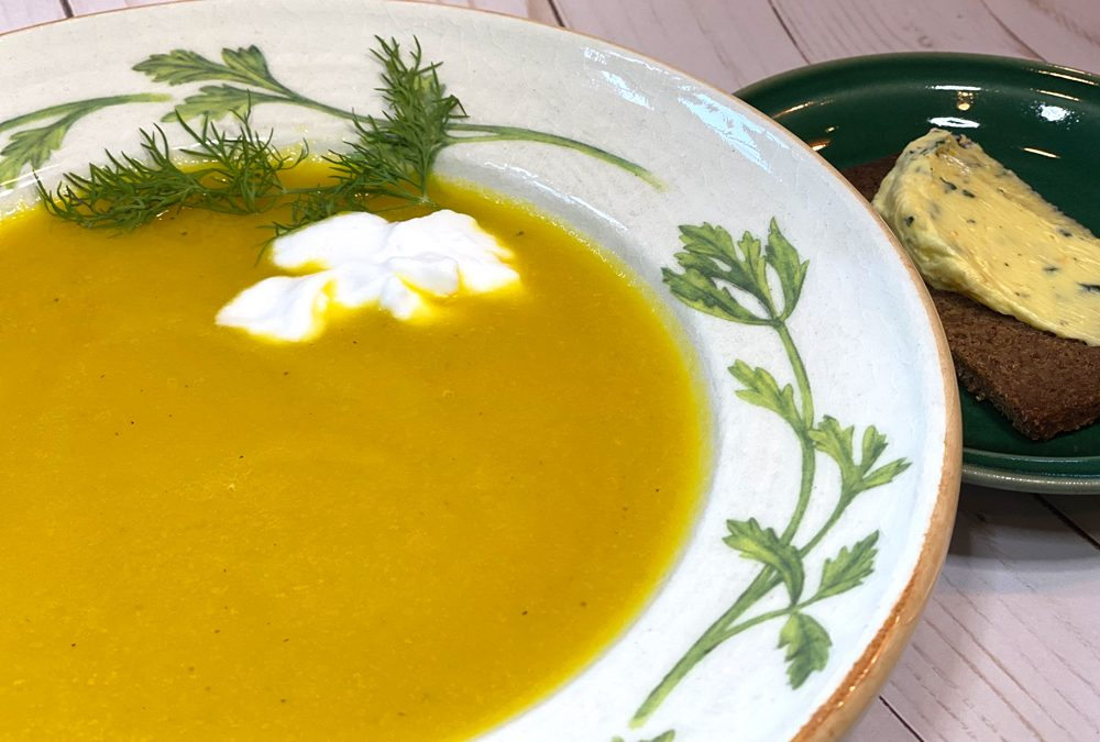 Golden Borscht Recipe