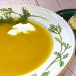 Golden Beet Soup Recipe By kristen coffield of the culinary cure