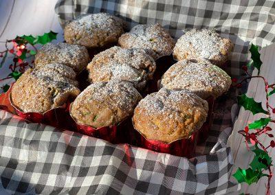 Sweet & Savory Zucchini Muffins