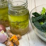 Lemon Shallot Vinaigrette dressing by kristen coffield of the culinary cure