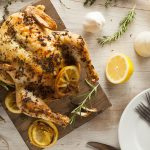 simple roast spring chicken by kristen coffield of the culinary cure