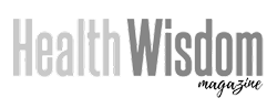 logo for health wisdom magazine