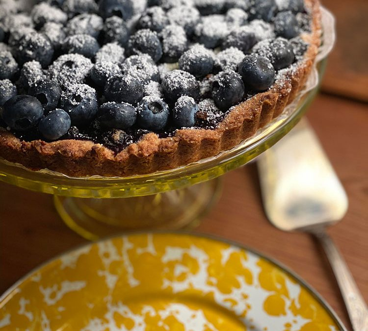 Kristen's Blueberry Kuchen Recipe