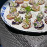 Deviled Red, White & Blue Potato Recipe