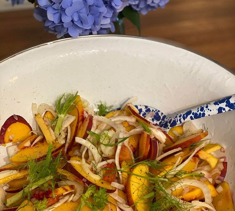 Stone Fruit and Fennel Slaw Recipe
